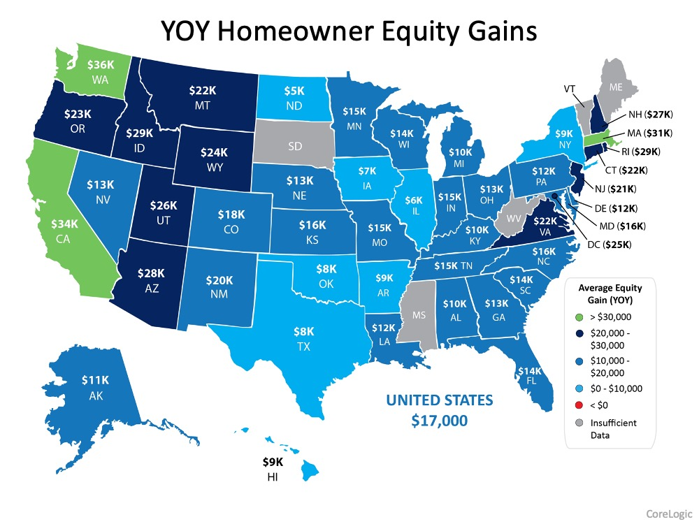 Homeowner Equity Increases an Astonishing $1 Trillion   Simplifying The Market